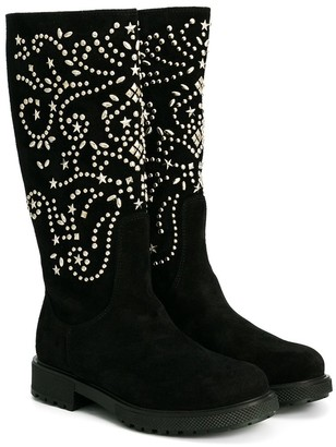 Ermanno Scervino Embellished Boots