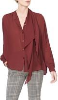 Habitual Iluna Woven Drape Blouse