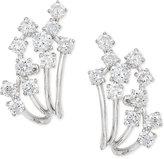 Effy Pavé Classica by Diamond Earrings (7/8 ct. t.w.) in 14k White Gold