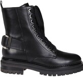 Thumbnail for your product : Sergio Rossi Buckled Combat Boots