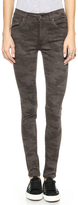 James Jeans Twiggy 5-Pocket Legging in Artillery