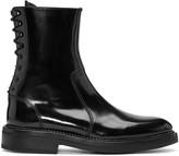 Yang Li Black Lace-Up Boots