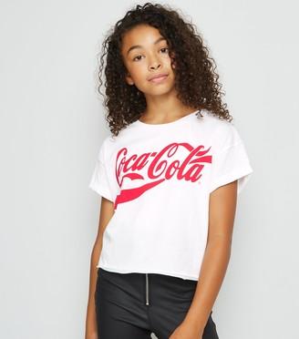 New Look Girls Coca Cola Logo T-Shirt