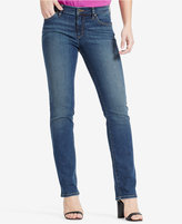 Lauren Ralph Lauren Super-Stretch Harbor Wash Straight-Leg Jeans