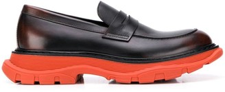 Alexander McQueen chunky sole loafers
