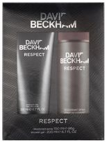 Beckham Respect Toiletry Set Bodyspray & Shower Gel