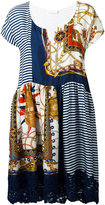 P.A.R.O.S.H. multi printed dress - women - Silk/Viscose/Polyamide - S