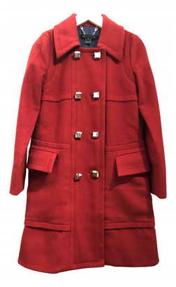 Marc by Marc Jacobs Red Wool Coats