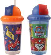 Nickelodeon PAW Patrol Boys 2 Piece Pop Up Straw Infants Sippy Cup
