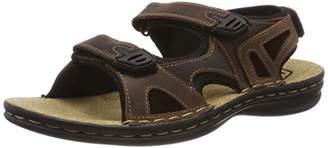 TBS Men's Berric Ankle Strap Sandals,43 EU