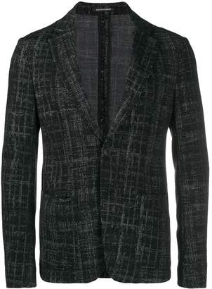 Emporio Armani jacquard jacket