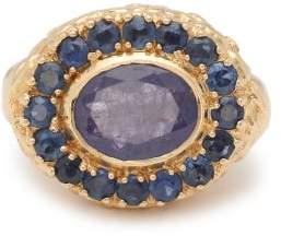 Jade Jagger Skull Sapphire, Tanzanite & 18kt Gold Ring - Womens - Blue