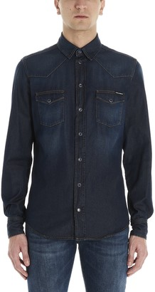 Dolce & Gabbana Denim Button Up Shirt