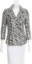 Chanel Tweed Metallic-Accented Jacket