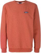 Patagonia logo patch sweatshirt