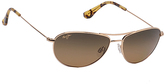 Maui Jim Gold & Bronze Sunglasses - Women