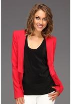 BCBGMAXAZRIA Alex Layered Lapel Jacket Women's Jacket
