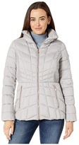 Bernardo Fashions EcoPlume Packable Puffer Jacket (Mood Indigo Blue) Women's Jacket