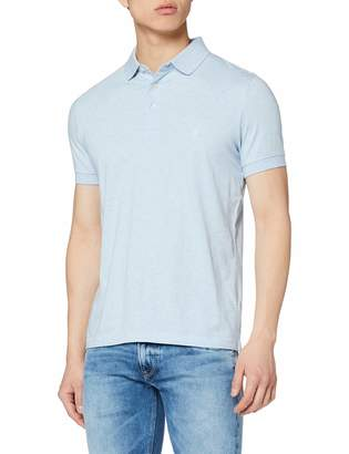 French Connection Men's Basic Sneezy F Logo Polo Shirt