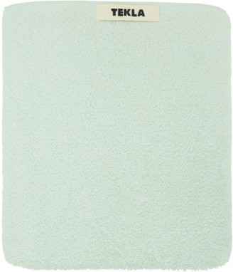 Tekla Green Organic Bath Sheet Towel