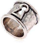 Alcozer & J Keyhole Ring