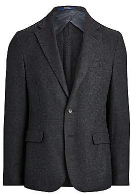 Polo Ralph Lauren Men's Soft-Fit Wool Single-Breasted Jacket