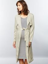 A Pea in the Pod Monrow Long Maternity Trench Coat