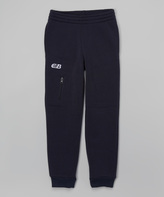CB Sports Navy & White Zip Pocket Sweatpants - Kids & Tween