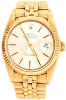 Rolex Datejust yellow gold watch