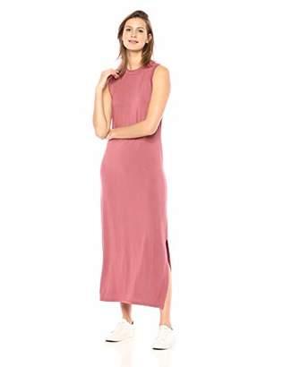 Daily Ritual Women's Jersey Mock-Neck Maxi Dress,XL
