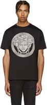 Versace Black & Grey Medusa T-Shirt