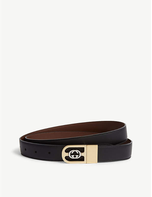 Gucci Reverisble leather belt