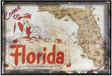Bed Bath & Beyond Florida Greetings Postcard on Box Wall Art