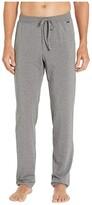 Hanro Casuals Long Pants (Stone Melange) Men's Pajama