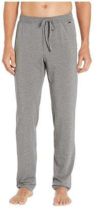 Hanro Casuals Long Pants (Stone Melange) Men's Pajama