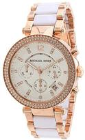 Michael Kors Parker Collection MK5774 Women's Analog Watch with Crystal Accents