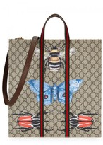 Gucci Butterfly Monogrammed Tote
