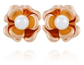 T Tahari Fall in Love with Florals Clip Earring