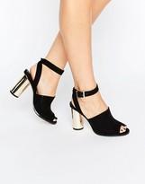 Asos HENA Heeled Sandals