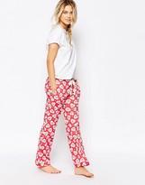 Cath Kidston Lace Hearts Pajama Bottom