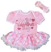 Kirei Sui My 1st Valentine's Day Dots Bodysuit Tutu