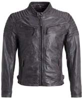 Gipsy Chester Leather Jacket Dunkelbraun