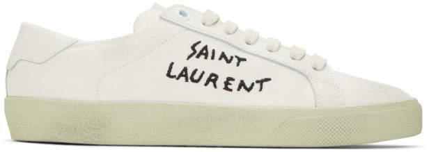 4a011f496d68 Saint Laurent Women's Sneakers - ShopStyle