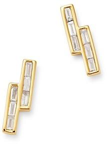 Bloomingdale's Diamond Baguette Stud Earrings in 14K Yellow Gold - 100% Exclusive