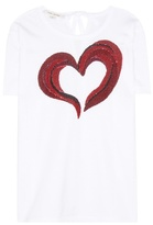 Marc Jacobs Sequin-embellished Cotton T-shirt