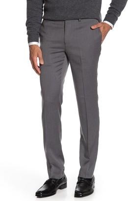 "Louis Raphael Mini Herringbone Slim Fit Pants - 30-34"" Inseam"