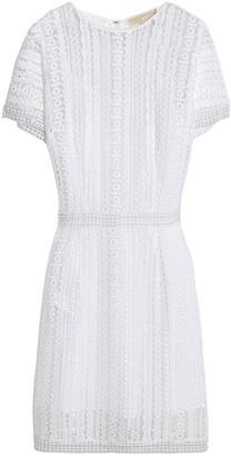 MICHAEL Michael Kors Crocheted Cotton-lace Dress