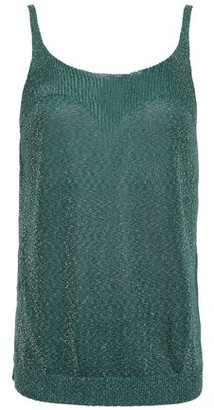 Missoni Metallic Stretch-knit Tank