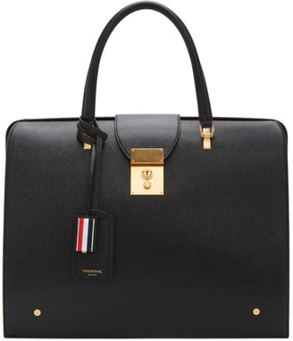 Thom Browne Black Mr. Thom Briefcase