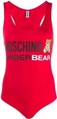 Moschino Underbear tank bodysuit